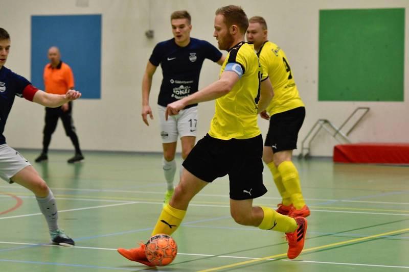IK Myranin keltapaidat pelaavat alkavalla kaudella futsalin Ykkösessä.