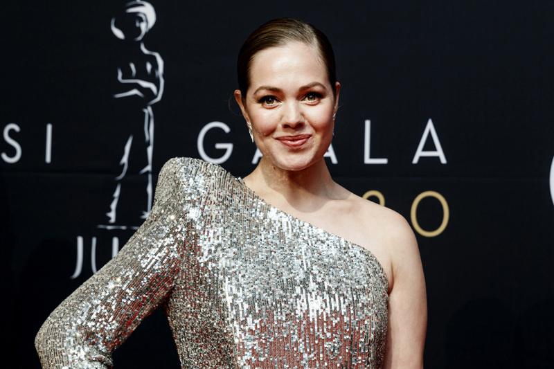 Oona Airola oli ehdokkaana Parhaan naissivuosan Jussin saajaksi.