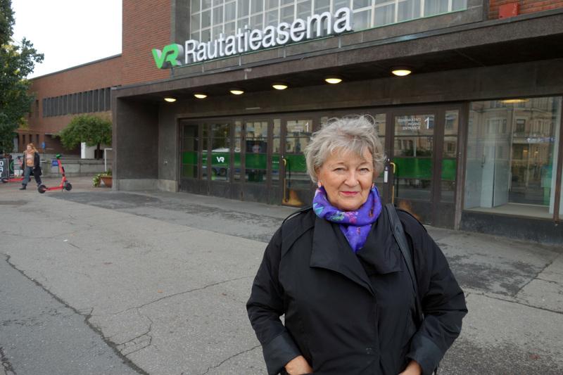 Tampereesta on muodostunut Perhosta kotoisin olevan Anni Luokkalan elämän kiintopiste.