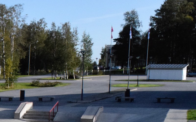 Sursikin yläkoulu sijaitsee Pedersöressä.