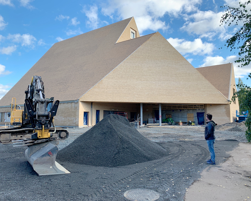 Ylivieskan uuden kirkon rakennushanke ei ainakaan vielä ole nostanut kirkollisveroprosenttia.