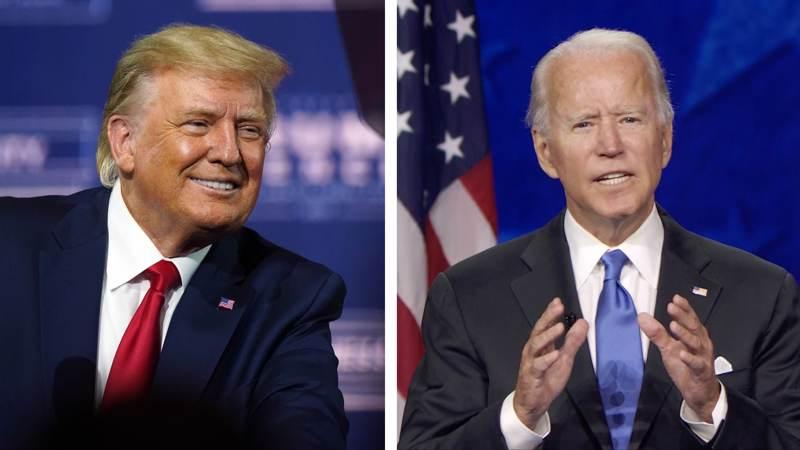 Donald Trumpin ja Joe Bidenin kaksintaistelu ratkeaa  - mahdollisesti - runsaan kahden viikon kuluttua.