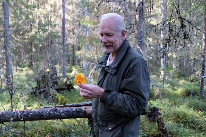 - Myöskin se perinteinen neuvo, ettei kerää sellaisia sieniä joita ei tunne, pitää edelleen paikkaansa, ohjeistaa kokkolalainen Kenneth Bergroth.