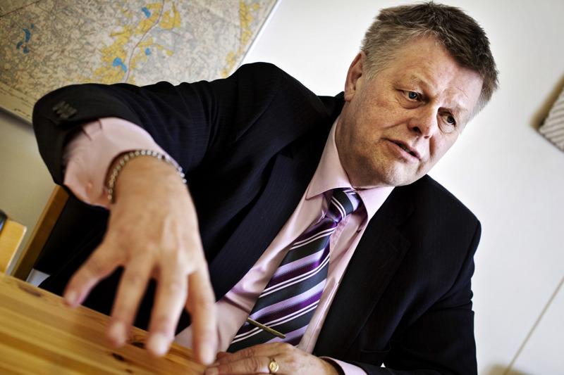 Lestijärven kunnanjohtaja Esko Ahonen jää eläkkeelle ensi vuoden heinäkuussa. Kuva vuodelta 2012.