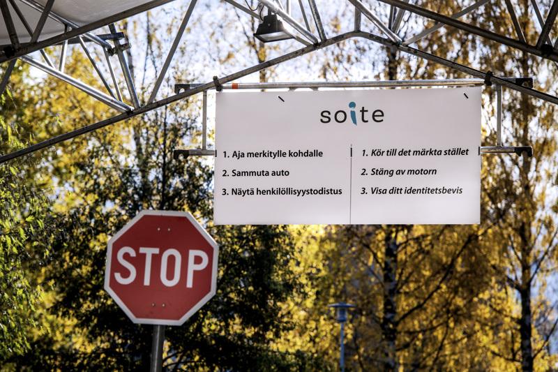 Varmistetuissa koronavirustartunnoissa on Soiten alueella ollut neljän päivän stoppi.