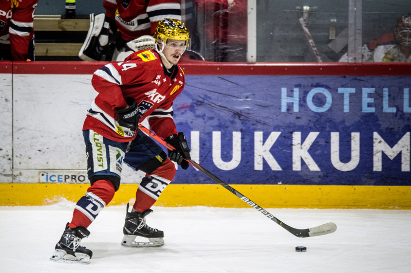 Erik Ahopelto järjesti Hermekselle lisäpisteen Rovaniemeltä.