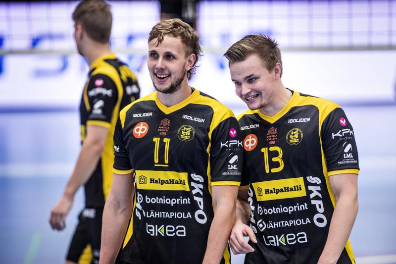 Antti Leppälä ja Jiri Hänninen olivat Tiikereiden tehomiehet Joensuussa.