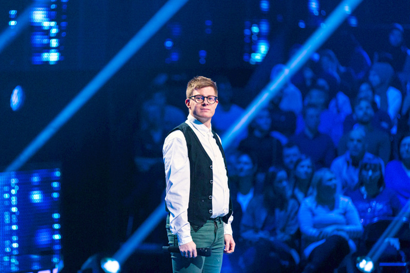 Sami Kortell pitää esiintymisestä. All Together Now Suomi -ohjelmassa hän sai tehdä sitä isolla estradilla.