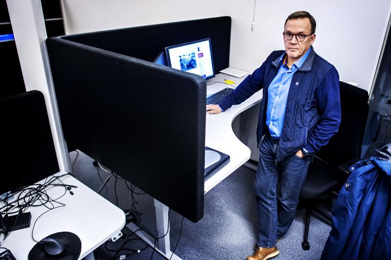 Vastuullisen tiedonhallinnan asiantuntija ja ylikomisario (evp.) Erkki Kerola.