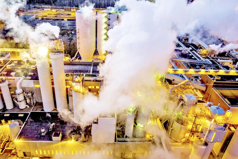 UPM Pietarsaaren tehtaalla on menossa huoltoseisokki, jonka yhteydessä tapahtui vakava työtapaturma.
