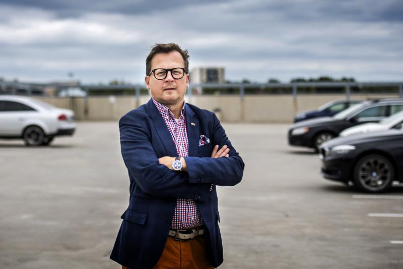 Janne Ylinen on Keski-Pohjanmaan Kulttuurirahaston uusi puheenjohtaja.