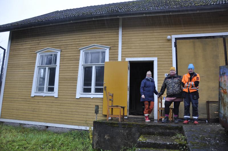Kulttuuritalo Veistämö. Viime vuosina vähällä käytöllä ollut talo on säilynyt ihmeen hyvässä kunnossa aivan Lohtajan kirkonkylän reunalla.