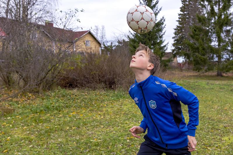 Albertti Jauhiainen kaipaisi aika ajoin myös Käräjäojan kotikentälle harjoittelukavereita.