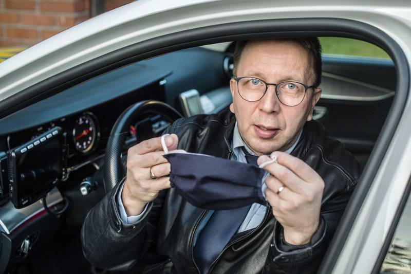 Jari Korkiakankaan mukaan koronavirus on vaikuttanut taksialaan todella paljon.