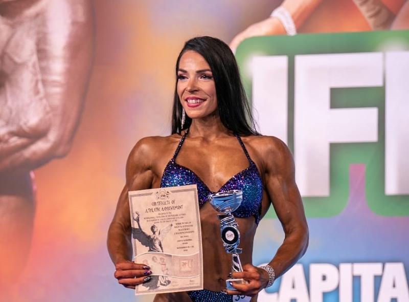 Kaustislainen Karoliina Skantsi sijoittui neljänneksi body fitnessin MM-kilpailuissa Espanjassa.