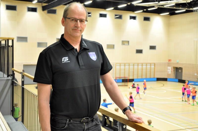 Jarmo Kattilakoski seurasi 12-vuotiaiden poikien harjoittelua viime viikolla Kampushallilla.