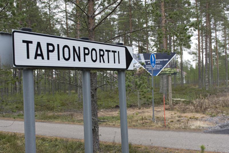 Kesärannan lisäksi Tapionportin uusi alue on kiinnostanut tonttien ostajia.