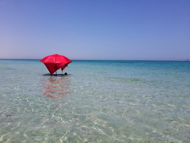 Saudi-Arabiassa voi löytää uimarantoja, joilla ei ole tungosta.