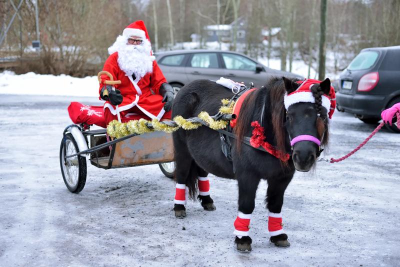 Tänä vuonna joulupukin näkeminen ei ole itsestäänselvyys.
