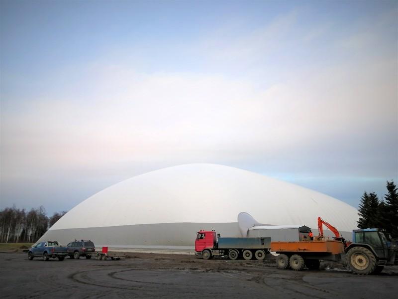 LKI Arenaa on jo ehditty kehaista Sursikin Globeniksi.
