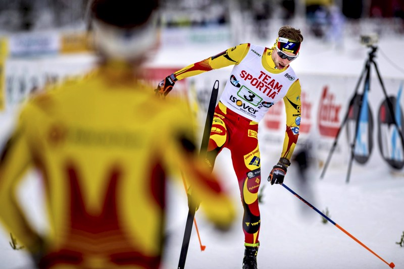 Joni Mäen voittokulku jatkui lauantaina Taivalkoskella.