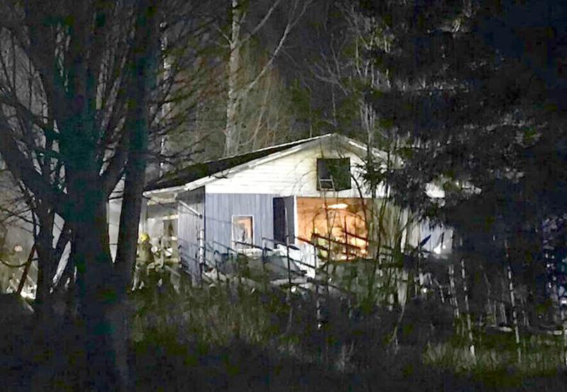 Autotallissa paloi Kokkolan Halkokarilla maanantaina iltayhdeksän aikoihin.