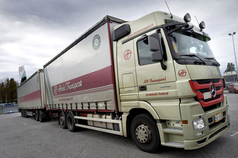 Ahola Group jatkaa lunastusmenettelyn jälkeen Ahola Transportin toimintaa puhtaasti perheyhtiönä.