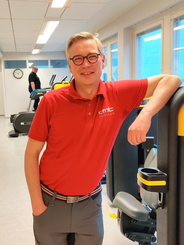 Viime kesänä Jukka Ritola sai kutsun lentopallon A-maajoukkueen fysioterapeutiksi.