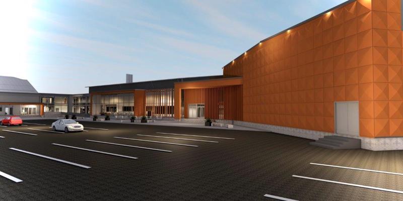 Nivala monitoimihallin rakentaminen aloitetaan 2022.