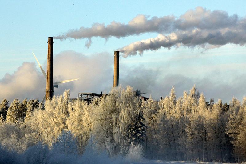 Teräksen valmistamisessa syntyy enemmän hiilidioksidia kuin terästä.