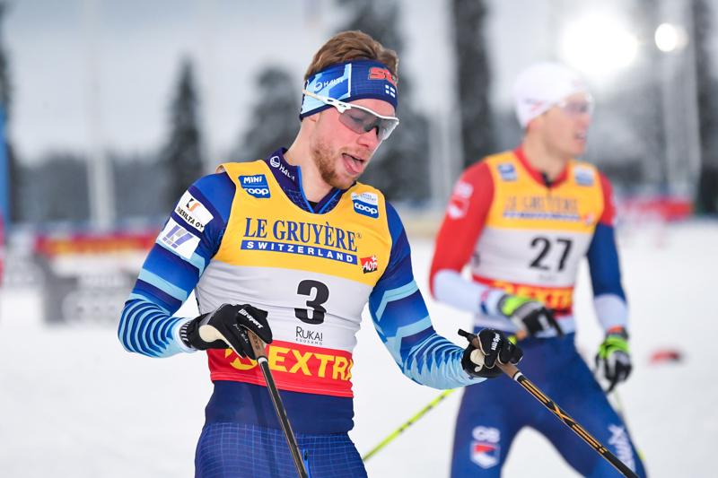 Pohti ST:n Joni Mäki voitti alkuerän, mutta pehmeni sitten välierässä.