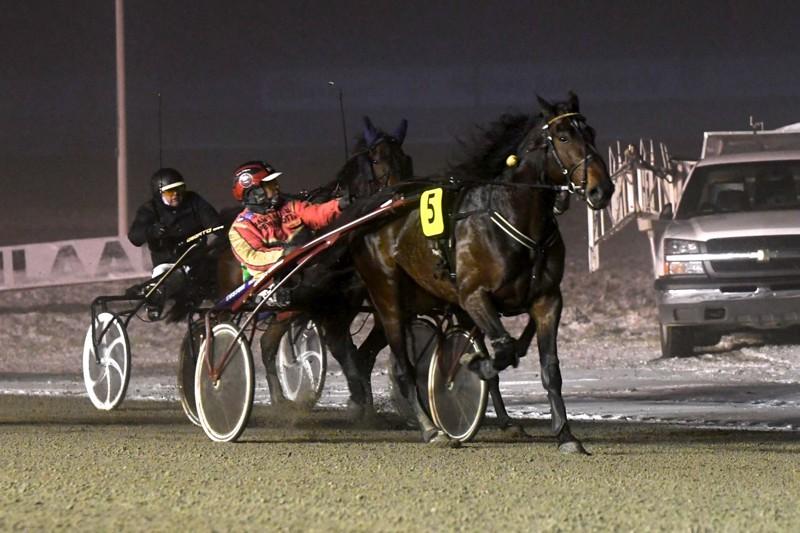 Vieremän ori Cabin Crew voitti Keskisen nuorten sarjan Tuomas Pakkanen kuskinaan.