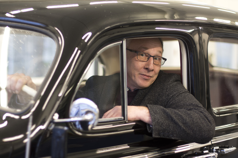 Timo Pihlajamaa näki ostamansa Kallion Buickin ensimmäisen kerran, kun auto saapui Nivalaan.