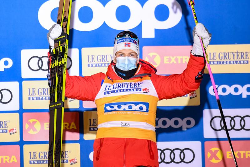 Johannes Hösflot Kläbo voitti Rukan minitourin kolmannen kerran peräkkäin.