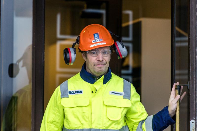 Janne Koskela sai jäsenistöltä vankan tuen pääluottamusmiesvaalissa.