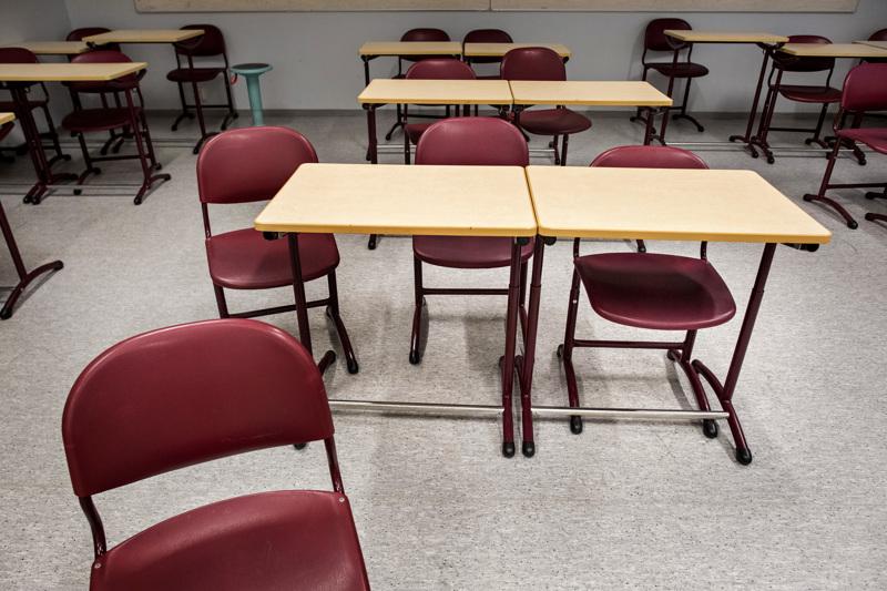 (arkistokuva) Ylivieskassa lukio siirtyy etäopetukseen.
