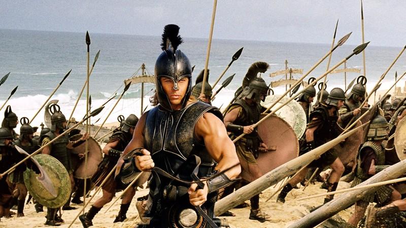 Tunnettu soturi - Brad Pitt on Kreikan Akilles.