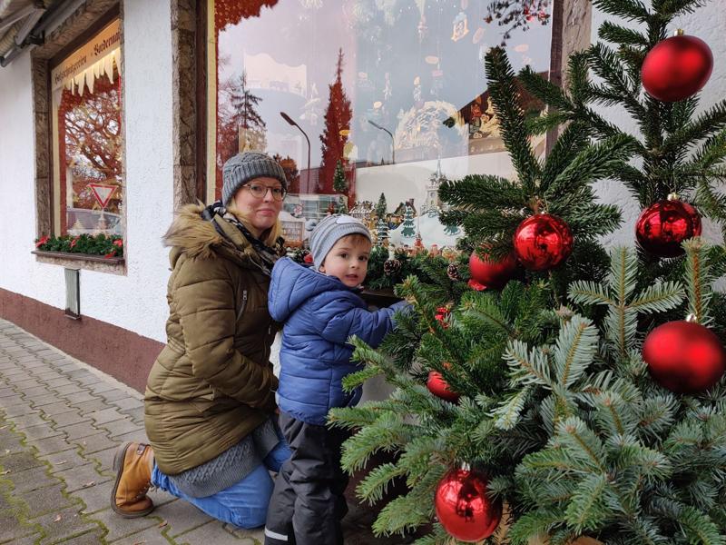 Sonja Bharuchalla on kaksivuotias Leo-poika.