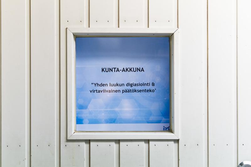 Murresanalla väritetyssä Kunta-Akkuna-hankkeessa pyritään löytämään kunnille yhtenäinen ja älykäs palvelualusta.
