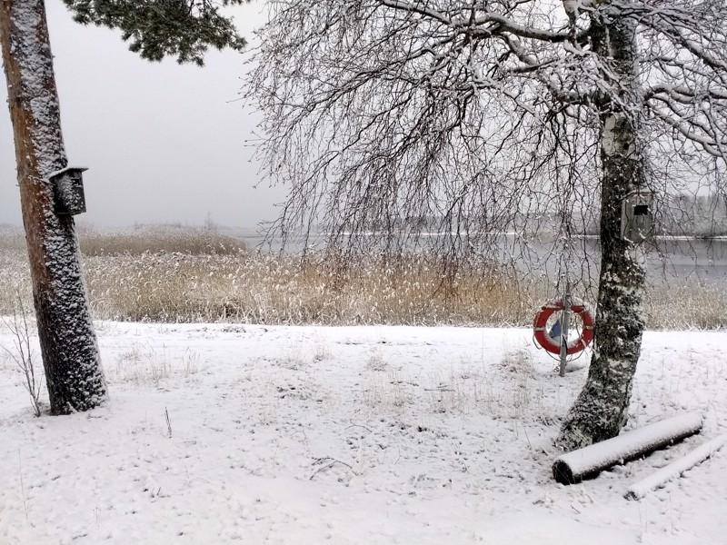 Jouluaaton kauneutta Sautinkarissa.