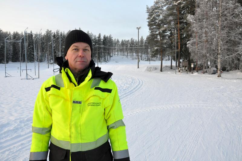 Kaustiselle on tarkoitus saada kunnolliset perinteisen ladut vielä tämän viikon aikana, kertoo urheilualueista vastaava Juha Torppa