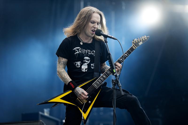 Kitaristi Alexi Laiho muistetaan Children of Bodom -metalliyhtyeen keulakuvana.