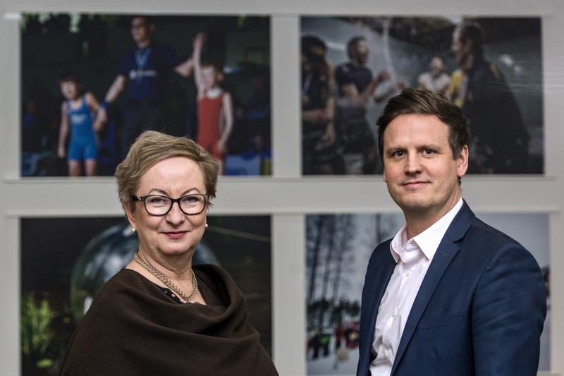 KPK Kyvyt on uusi nuorille urheilijoille tarkoitettu ryhmä, joiden kanssa teemme yhteistyötä, kertovat päätoimittaja Tiina Ojutkangas ja liiketoimintajohtaja Arto Mustikkaniemi.