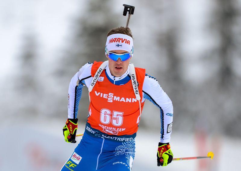 Tero Seppälän 80 prosentin osumatarkkuus ei riittänyt takaa-ajokisassa.