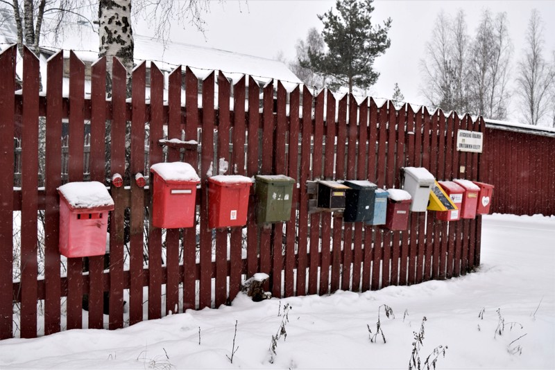 Kittholmassa kulkee kaikkien kaupunkilaisten lenkkipolku. Sen suosiosta kertovat yhdistysten postilaatikot, joihin ulkoilijat voivat merkitä lenkkikierroksensa.
