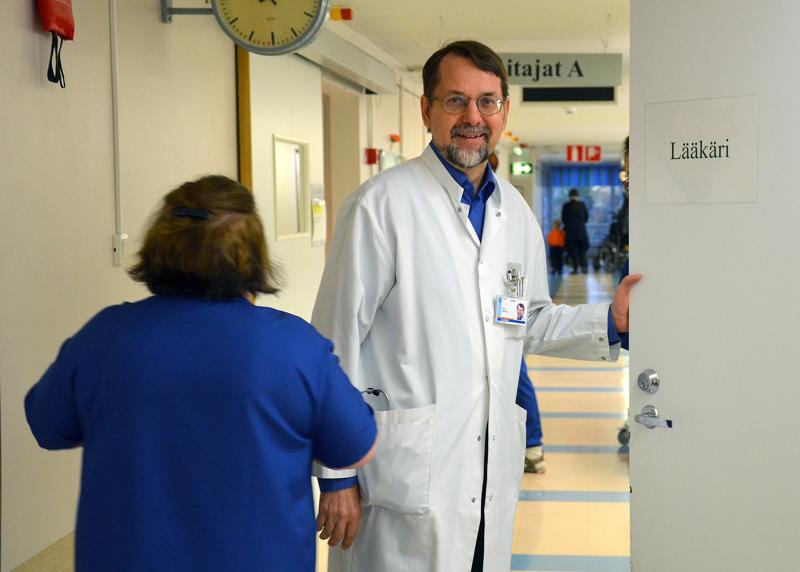 Tulosaluejohtaja Asko Rantala  kertoo, että viime vuonna Oulaskankaan sairaalan leikkaustoiminta teki hyvän tuloksen sekä taloudellisesti että toiminnallisesti tarkasteltuna.
