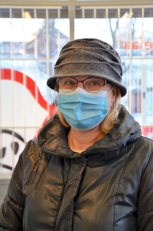 Marita Toivonen, Kannus- En ole käynyt. Kävelyllä ja sauvakävelyllä, hiihtolomaviikolla hiihdän jäällä.