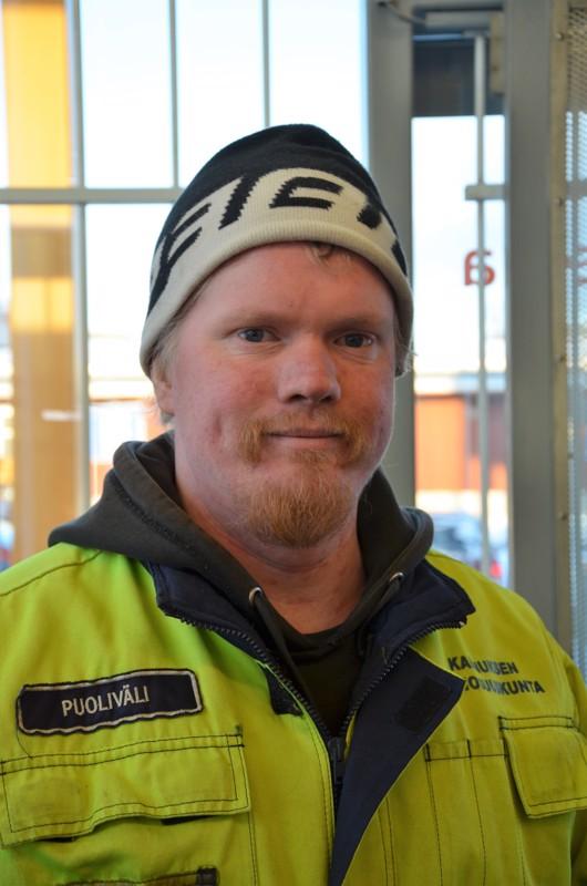 Aleksi Puoliväli, Kannus- En ole käynyt hiihtämässä.