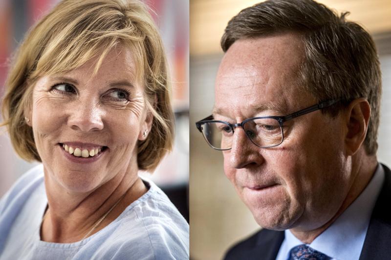 Oikeusministeri Anna-Maja Henriksson ja elinkeinoministeri Mika Lintilä ovat samaa mieltä, että helmikuun alussa on odotettavissa patoutuneiden konkurssien purkaantuminen.