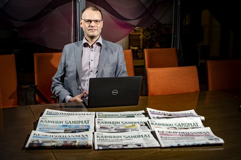 KPK Yhtiöiden toimitusjohtaja Mikko Luoma.